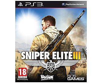 505 Games Sniper Elite 3 PS3  1u