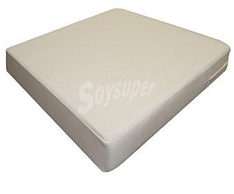 Hevea Set de 4 cojínes de asiento en color beige y de 65x64x10 centímetros 4 unidades