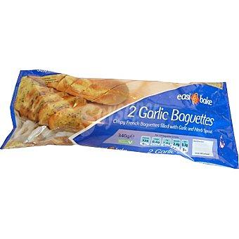 EASYBAKE Pan con ajo 2 baguettes Bolsa 340 g