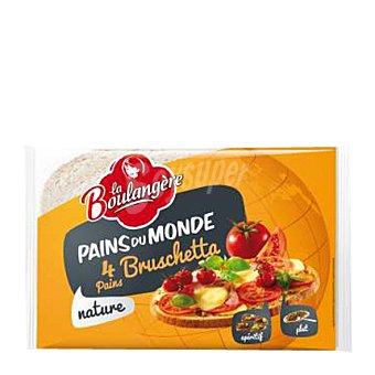 La Boulangere Pan de molde Bruschetta 4 ud