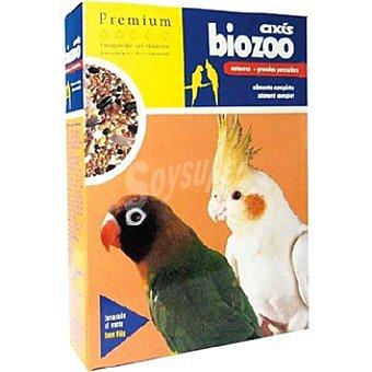 BIOZOO AXIS PREMIUM Alimento para cotorras Envase 400 g