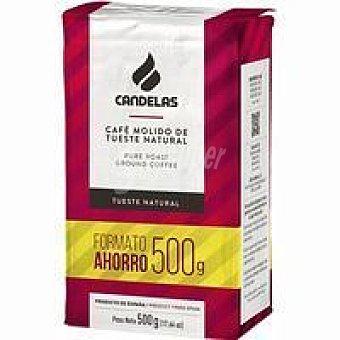 Candelas Café molido natural Paquete 500 g