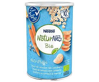 Naturnés Nestlé Snacks de cereales con zanahoria, a partir de 10 meses BIO 35 g