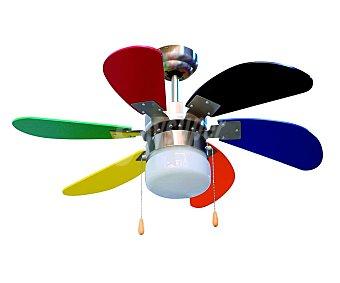 ORBEGOZO CC65085 Ventilador de techo 55W, 6 aspas, 3 velocidades, diámetro 85cm, 1 luz.