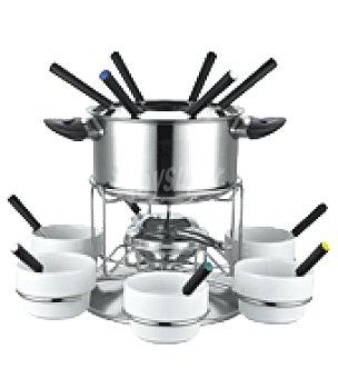 Set fondue inox 23 pzas 6COME