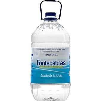 Fontecabras Agua mineral Garrafa 5 l