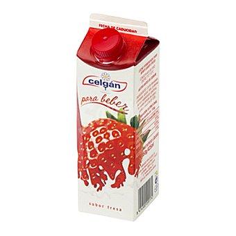 Celgan Yogur líquido fresa 500 g