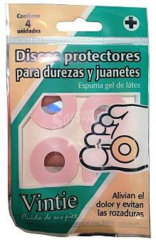 Vintie Discos para durezas y juanetes Paquete 4 u