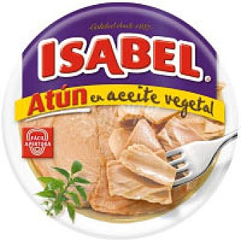 Isabel Atún claro en aceite vegetal Lata de 400 g