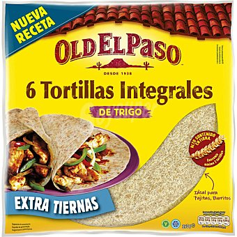 Old el Paso Tortillas integrales suaves 6 unidades (350 g)
