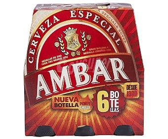 Ambar Cerveza Especial Pack 6x25 cl