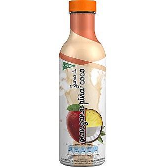 El Corte Inglés zumo de manzana, piña y coco envase 750 ml