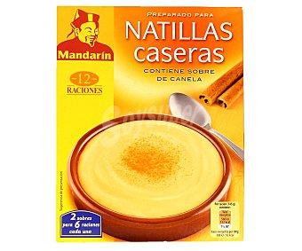 Mandarin Natillas preparado 80 Gramos