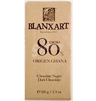 BLANXART Chocolate 80% Ghana 100 g