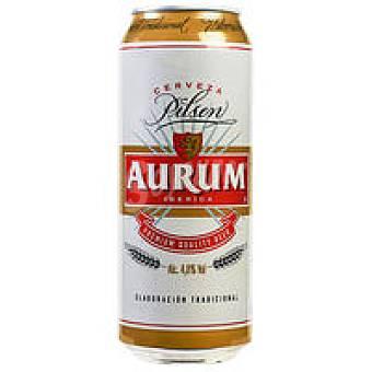 Aurum Cerveza Lata 50 cl