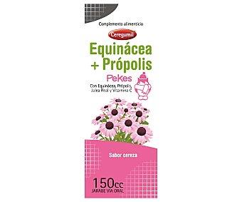 CEREGUMIL Complemento alimenticio a base de equinacea própolis y vitamina C con sabor cereza, 150cc