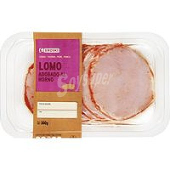 Eroski Faccile Lomo adobado al horno Bandeja 300 g