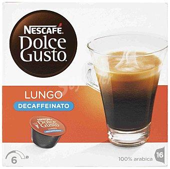 Dolce Gusto Nescafé Café Lungo Descafeinado 16 capsulas