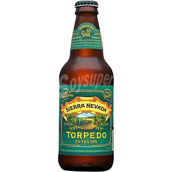 Variedad Sierra nevada Torpedo cerveza rubia artesana estadounidense Extra Ipa Botella 35,50 cl