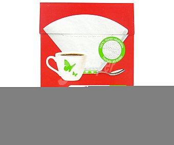 Auchan Filtro cafetera N.4 por 80 unidades auchan 80 unidades