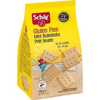 Schär Galletas de mantequilla sin gluten Mini Butterkeks bolsa 125 g