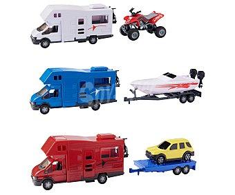 Rik&Rok Auchan Autocaravana con remolque y vehículo ROK