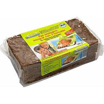 Mestemacher Pan biológico integral con 3 cereales Paquete 500 g
