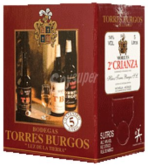 Torres Burgos Vino tinto crianza 5 l
