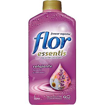 Flor Suavizante concentrado frescor relajante lavanda y camomila Botella 40 dosis