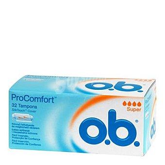 O.B. Tampón superplus Pro Confort 32 ud