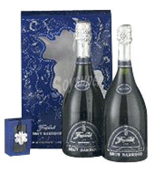 Freixenet Estuche cartón con 2 botellas D.O. Cava + colgante Swarovsky 75 cl