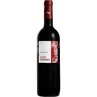 JULIO HERRERO Vino tinto de Madrid Botella 75 cl