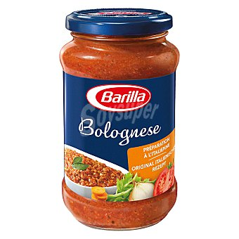Barilla Salsa boloñesa nueva receta frasco 400 g