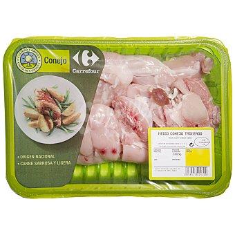 Carrefour Calidad y Origen Medio conejo troceado Bandeja de 650.0 g.