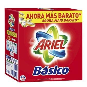 Ariel Detergente máquina en polvo Maleta 50 cacitos