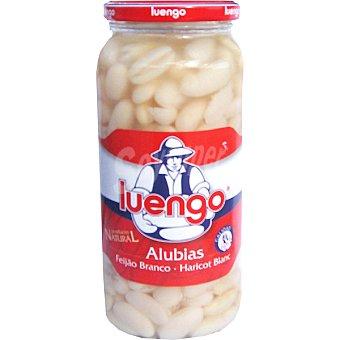 LUENGO Alubia blanca cocida  Frasco 570 g