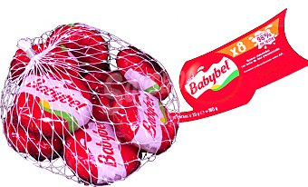 Babybel Queso bola mini Malla 8 u - 160gr