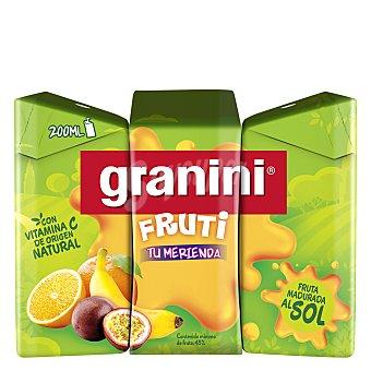 Granini Zumo Fruti Pack 3x200 ml