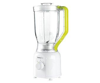SELECLINE SHG296 Batidora de vaso selecline 842699 (producto económico alcampo), 350w, 2 velocidades y pulse, jarra de plástico graduada con 1,5 litros de capacidad, 1,5 litros