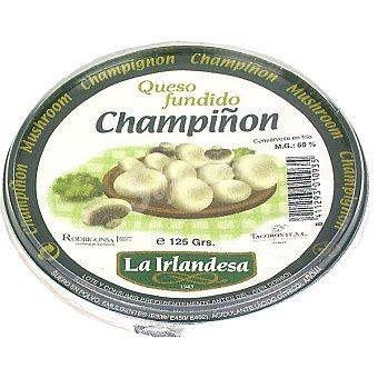 La Irlandesa Crema de queso fundido con champiñones para untar Tarrina 125 g