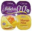 Yogur bifidus desnatado con mango y piña Pack 4 x 125 g - 500 g Hacendado