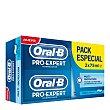 Dentífrico Pro-Expert Multi-Protección Menta Fresca Pack 2x75 ml Oral-B