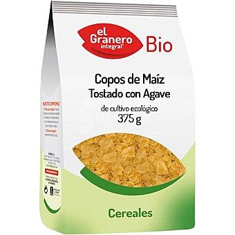 Biogran el granero Copos tostado con ágave de cultivo ecológico Envase 375 g