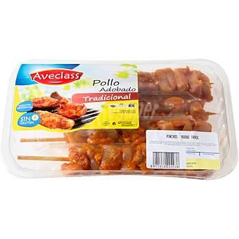 AVECLASS Pinchos morunos de pollo sin gluten Bandeja 360 g