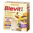 Papilla instantánea de 8 cereales al estilo bizcocho desde los 5 meses  Caja 600 g Blevit