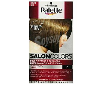Palette Schwarzkopf Tinte Rubio Natural 7 Salon Colors 1 Unidad