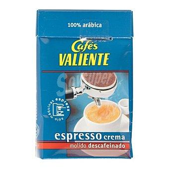 CAFÉS VALIENTE Café expreso descafeinado 250 g