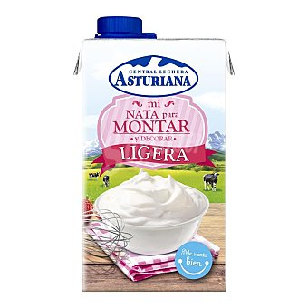 Central Lechera Asturiana Nata montar ligera Brick 500ml