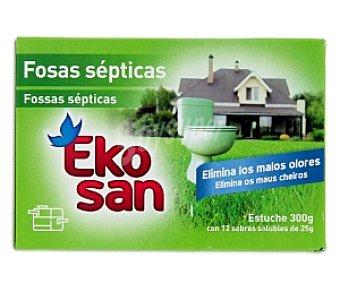 EKOSAN Dasatascador fosas sépticas (elimina malos olores) 12 Unidades