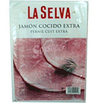 La Selva Jamon extra cocido lonchas 140 G
